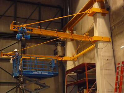 Wall Mounted Tie-Rod Jib